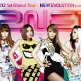 1st Global Tour - New Evolution in Japan