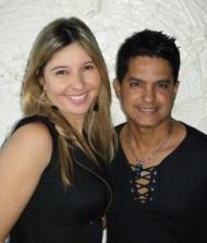 Andreia Reys e Vinicius