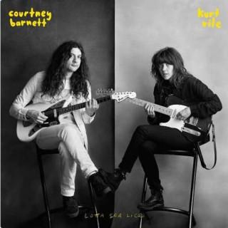 Resultado de imagem para Courtney Barnett & Kurt Vile - Lotta Sea Lice -