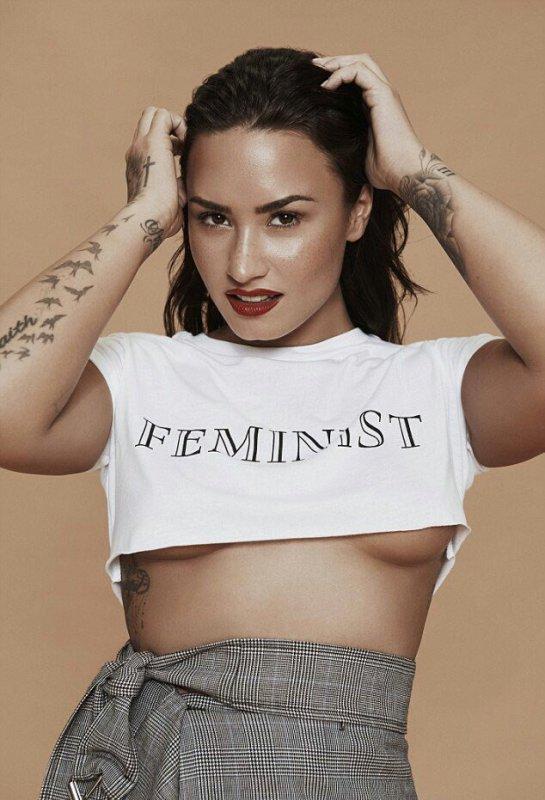"""122036 Veja a sessão de fotos de Demi Lovato para a revista """"Notion"""""""