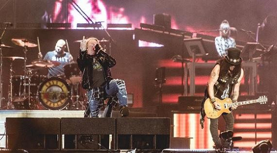 Guns N' Roses no Rock in Rio!