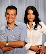 Julio Cesar e Marlene