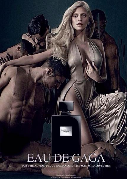 Lady Gaga em nova foto promocional do perfume