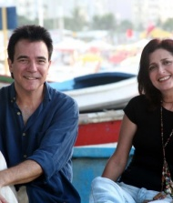 Luciano Alves e Bettina Graziani