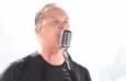 O vocalista e guitarrista James Hetfield no show do Morumbi