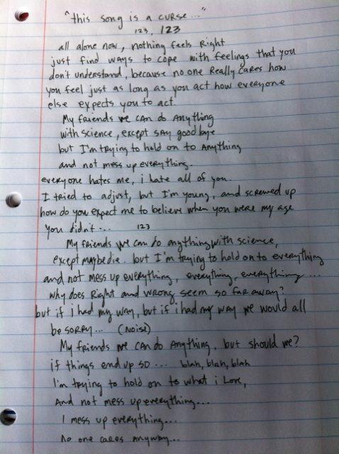 letra de canciones yeah yeah yeahs: