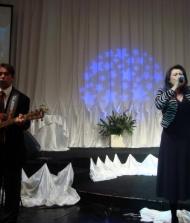 Nilton Cezar e Andrea Chrys