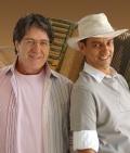 Oswaldir e Carlos Magr�o