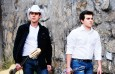 Foto de Otavio Augusto e Gabriel