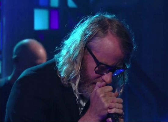 The National letras