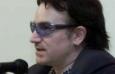 Bono Vox e o professor Jeffrey Sachs